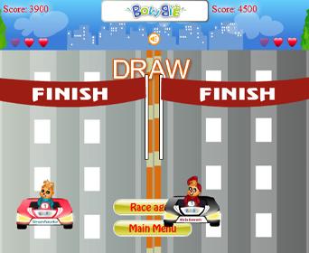 Chipmunks Race