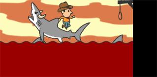 Shark rodeo