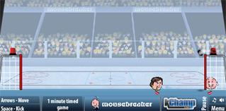 Sports heads ice hockey