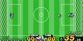 Goalkeeper gra na dwóch