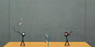 Stick badminton 2